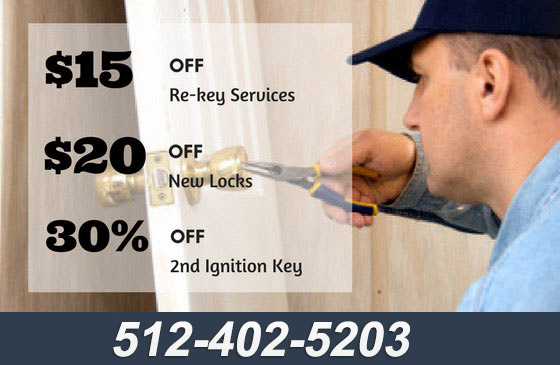 Locksmith Dripping Springs TX Coupon