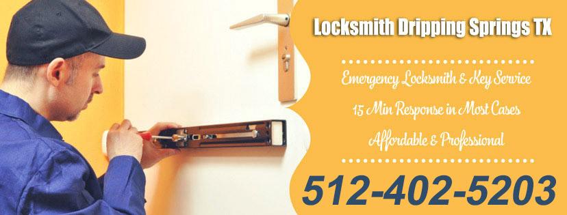 Locksmith Dripping Springs TX banner